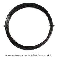 【12mカット品】ゴーセン(GOSEN) ポリロン(POLYLON) ブラック 1.24mm/1.29mm ポリエステルストリングス テニス ガット ノンパッケージ