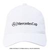 メルセデスカップ(Mercedes Cup)オフィシャル商品 ビッグロゴ キャップ ホワイト 国内未発売