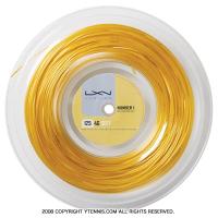 ルキシロン(LUXILON) 4G ソフト(4G SOFT) 1.25mm 200mロール ポリエステルストリングス イエロー