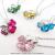 ★アウトレット★クローバー 四つ葉 ハートデザイン スワロフスキー ネックレスの画像