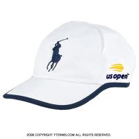 USオープン×ポロラルフローレン 全米オープン テニス オフィシャルキャップ ホワイト