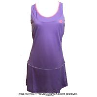 ロット(Lotto)シェラ ウーマン テニスドレス バイオレットデジタル 国内未発売モデル
