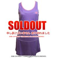 セール品 ロット(Lotto)シェラ ウーマン テニスドレス バイオレットデジタル 国内未発売モデル