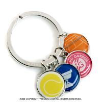 フレンチオープンテニス ローランギャロス オフィシャル商品 チャームキーホルダー