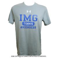 アンダーアーマー(UNDER ARMOUR)×IMG(ニック・ボロテリー テニスアカデミー) メンズ テニスTシャツ