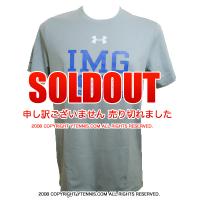 セール品 アンダーアーマー(UNDER ARMOUR)×IMG(ニック・ボロテリー テニスアカデミー) メンズ テニスTシャツ
