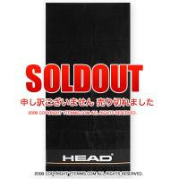 ヘッド(HEAD) テニス スポーツタオル ブラック 国内未発売