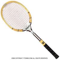 ヴィンテージラケット ウイルソン(WILSON) ジミー・コナーズ Jimmy Connors 木製 テニスラケット