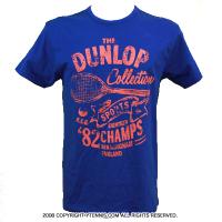 セール品 ダンロップ(Dunlop) カジュアルチャンプ テニスTシャツ ブルー