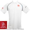 セール品 ジョコビッチファウンデーション限定 ユニクロ(UNIQLO) 2015ウィンブルドン着用モデル ポロシャツ ホワイト
