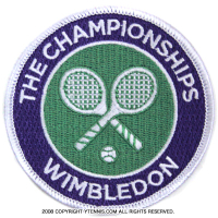 Wimbledon(ウィンブルドン)全英オープンテニス オフィシャル記念グッズ ワッペン