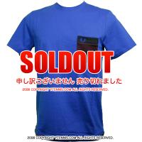 フレッドペリー(Fred Perry) ポケット Tシャツ ロイヤルブルー/ダークレッド/ブラック