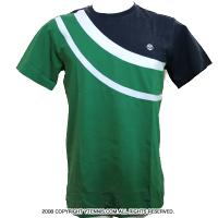 Wimbledon(ウィンブルドン) オフィシャル商品 Swirl Tシャツ グリーン/パープル 全英オープンテニス