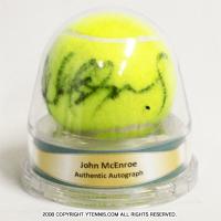 エース(ACE)ジョン・マッケンロー(John McEnroe) 自筆サインボール ACE製