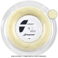 【新パッケージ】バボラ(BabolaT)シンセティックガット 1.35mm/1.30mm/1.25mm ナチュラルカラー (Synthetic Gut) ナイロンストリングス 200m ロール
