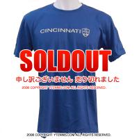 ATPツアー ウェスタンアンドサザンオープン シンシナティ・マスターズ(Cincinnati Masters)限定Tシャツ ブルー