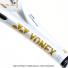 【大坂なおみ記念モデル】ヨネックス(YONEX) 2020年モデル Eゾーン 100 L (285g) ホワイト/ゴールド 16x19 (EZONE 100L LTD WHITE GOLD)テニスラケットの画像3