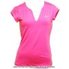 ナイキ(Nike) ピュアテニス ショートスリーブトップ シャツ ピンクパワー