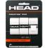 ヘッド(HEAD) ノバク・ジョコビッチ使用モデル プレステージプロ オーバーグリップテープ 3パック ホワイトの画像1