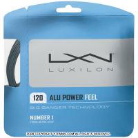【12mカット品】ルキシロン(LUXILON) アルパワーフィール(ALU POWER FEEL) グレー 1.20mm ポリエステルストリングス テニス ガット ノンパッケージ