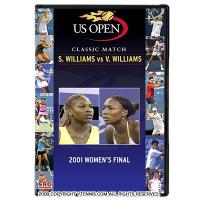 セリーナ・ウィリアムズVSヴィーナス・ウィリアムズ 2001年USオープン クラシックマッチ DVD ウーマンズ ファイナル