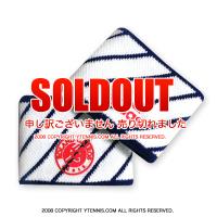 フレンチオープンテニス ローランギャロス オフィシャル リストバンド アディダス(adidas) ホワイト/ネイビー 全仏オープン