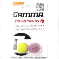 ガンマ(Gamma) ストリング・シングス バイブレーション ダンプナーテニスボール/ブレイン