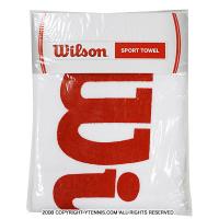 ウイルソン(Wilson) スポーツタオル ホワイト/レッド
