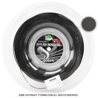 ゴーセン(GOSEN) ジャックコントロール(JACK CONTROL / POLY PROFESSIONAL) ブラック 1.24mm 240mロール (海外名ポリプロフェッショナル)