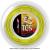ポリファイバー(Polyfibre) TCS ラフ(TCS ROUGH) 1.30mm/1.25mm 200mロール ポリエステルストリングス イエローの画像