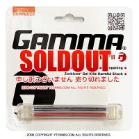 【ツインタイプで衝撃吸収能力UP】ガンマ(GAMMA) ショックバスターII ダンプナー ブラック/レッド