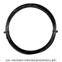 【12mカット品】ゴーセン(GOSEN) Gツアー1(G-TOUR 1) ブラック 1.25mm/1.30mm ポリエステルストリングス テニス ガット ノンパッケージ