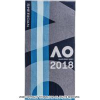 ★値下げ★全豪オープンテニス 2018 オフィシャルプレーヤーズタオル (大)メンズ オーストラリアンオープン
