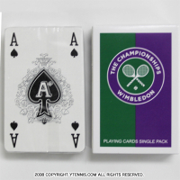 Wimbledon(ウィンブルドン)オフィシャル商品 限定販売 プレイングカード トランプ